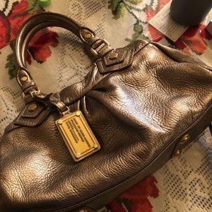 Marc Jacobs gold handbag